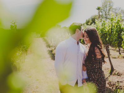 Wilson Creek Winery Engagement Photos