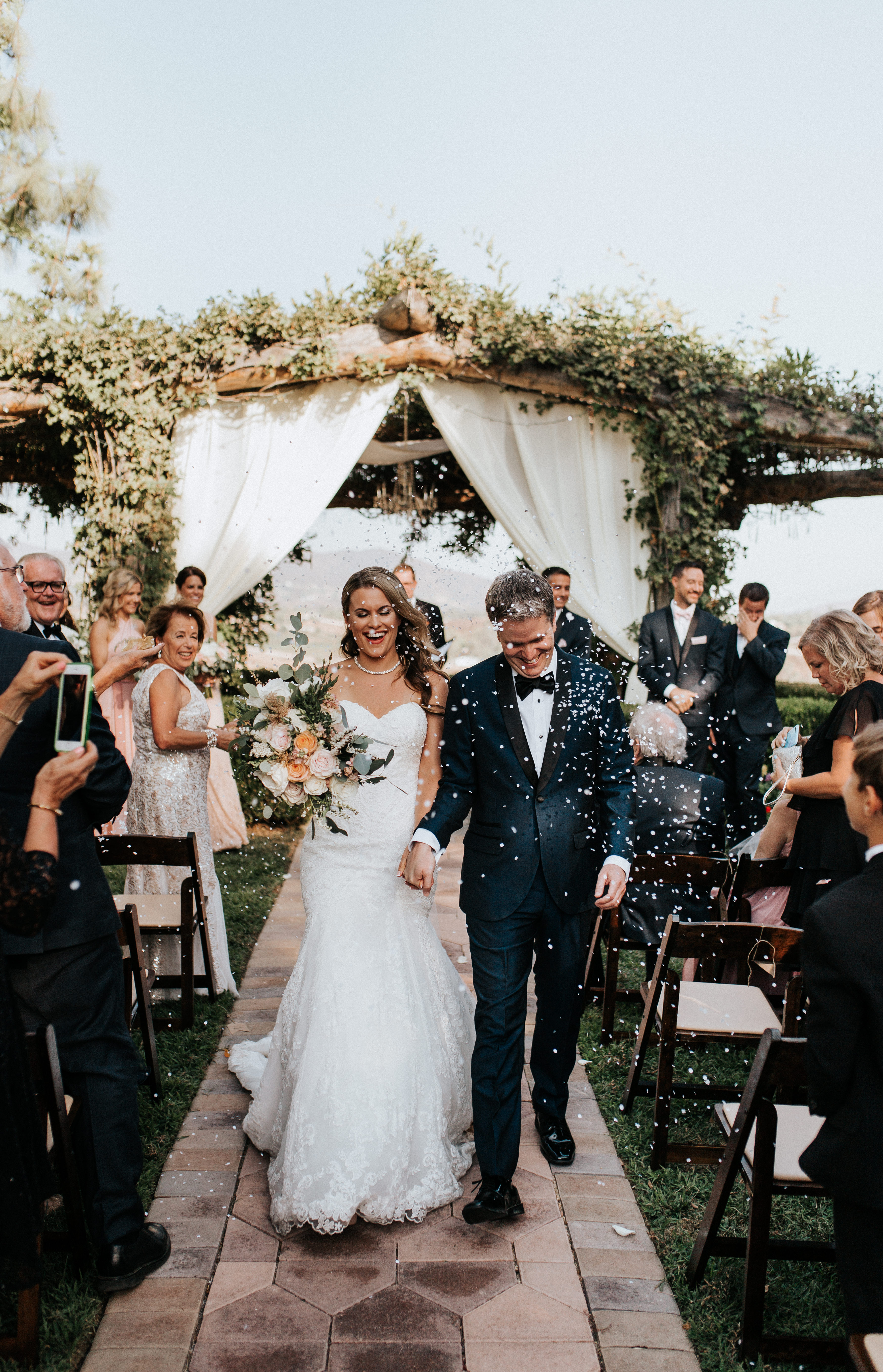 South Coast Winery Wedding